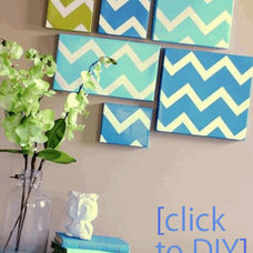 Modern Entry Dyi Canvas Paintings