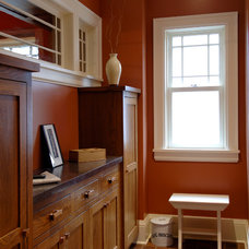 Traditional Entry by Quartersawn Design Build