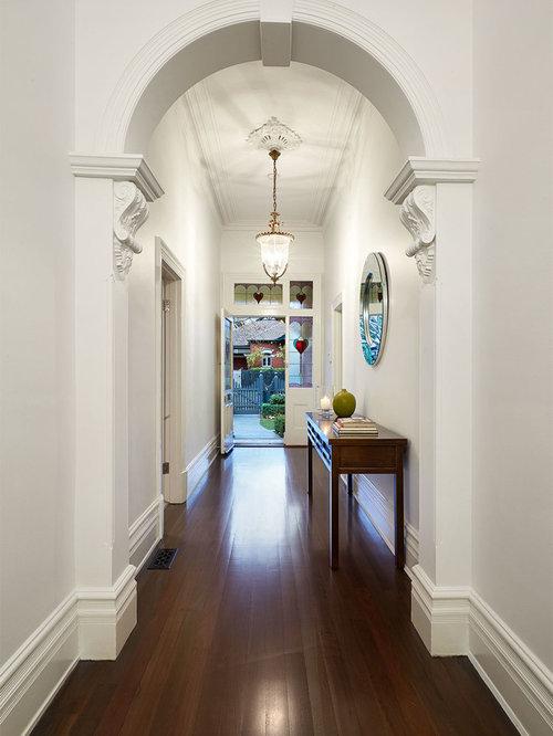 Houzz Foyer Wallpaper : Victorian hallway houzz
