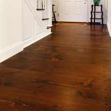 Traditional Entry by Heritage Wide Plank Flooring