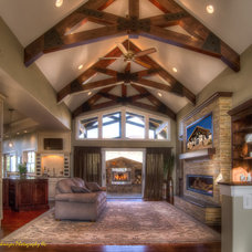 Traditional Entry by Housing & Building Association of Colo. Springs