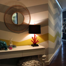 Eclectic Entry by Cure Design Group