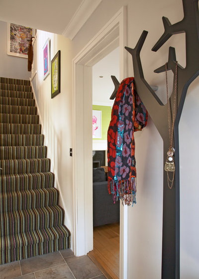 Eclectic Entrance by Think Contemporary