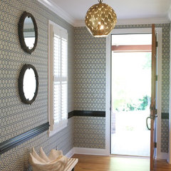 eclectic entry by Heather Garrett Design