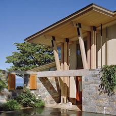 Contemporary Entry by Sutton Suzuki Architects