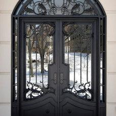 Mediterranean Entry by Manhattan Iron Doors