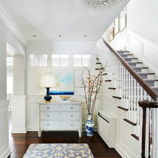 Traditional Entry by Martha O'Hara Interiors
