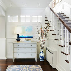 Traditional Entry by Martha O'Hara Interiors