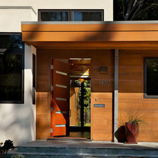 modern entry by Simpson Design Group Architects