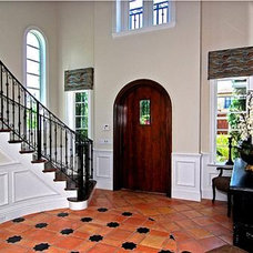 Mediterranean Entry by J.P. DiMisa & Associates Luxury Homes