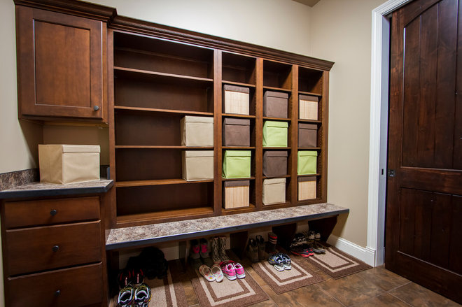 Traditional Entry by Artistic Cabinetry LLC