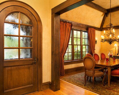 dark wood trim home design ideas pictures remodel  decor