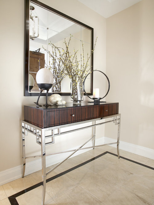 Modern Foyer Houzz : Elegant foyer houzz