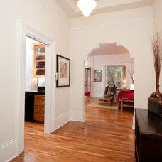 Contemporary Entry by Pangaea Interior Design, Portland, OR