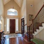 Gracious Traditional Foyer Traditional Entry Boston