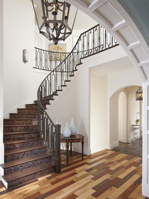 Multicolored Wood Floor Home Design Ideas Pictures