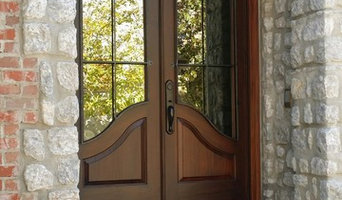 Elliptical Double Entry With Wrought Iron