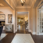 Georgetown Townhouse Transitional Entry Dc Metro