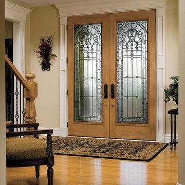 Enter your home through a stunning Pella® Architect Series® entry door