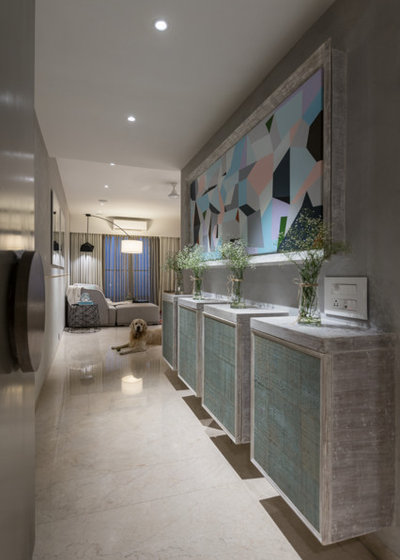 Eclectic Entry by loc design house