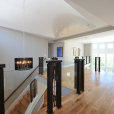 Contemporary Entry by Carmel Developments Inc