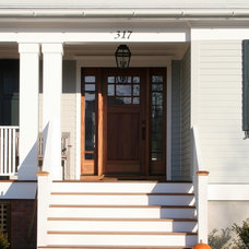 Traditional Exterior by Richard Bubnowski Design LLC