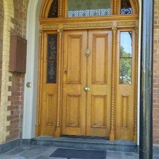 """Entrance door: """"After restoration"""""""