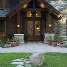 Rustic Entry by Marie Meko, Allied ASID