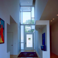 Modern Entry by Norris Architecture