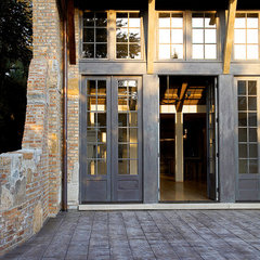 contemporary entry by Mark Hickman Homes