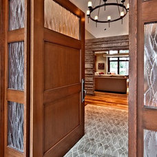 Contemporary Entry by ARTifact Interior Design