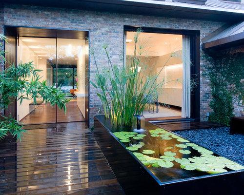 Modern Zen Foyer : Modern zen garden entryway design ideas remodels photos