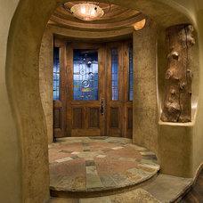 Southwestern Entry by Bess Jones Interiors