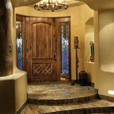 Southwestern Entry by Bess Jones Interiors
