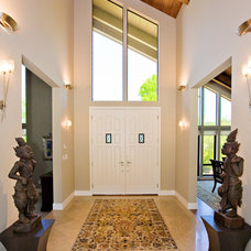 Contemporary Entry by Bill Fry Construction - Wm. H. Fry Const. Co.