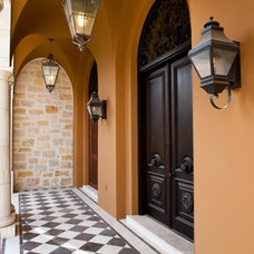 Mediterranean Entry by Braswell Architecture, Inc.