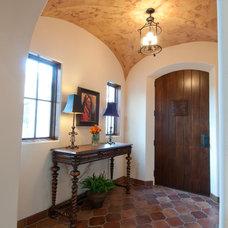 Mediterranean Entry by Butter Lutz Interiors, LLC