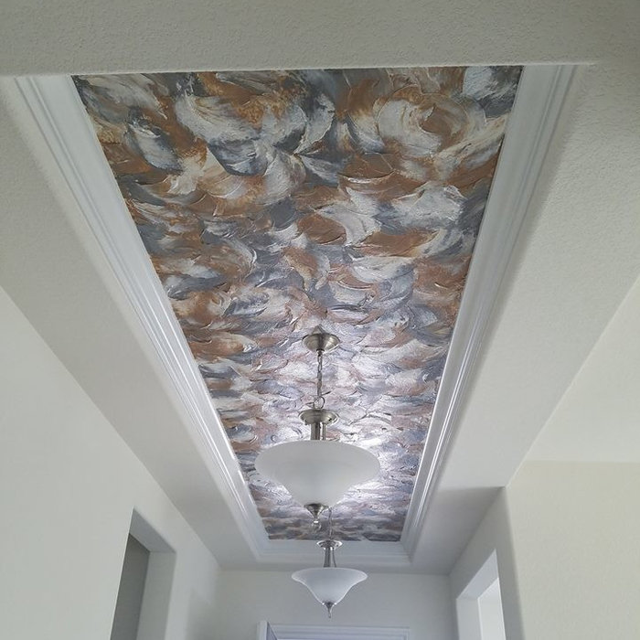 Entry Ceiling Decorative Painting