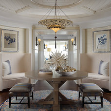 Beach Style Entry by Cindy Ray Interiors, Inc.