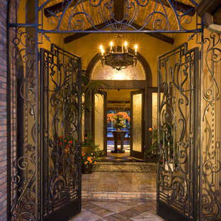 Entry Courtyard with hand forged Iron work sets the stage!
