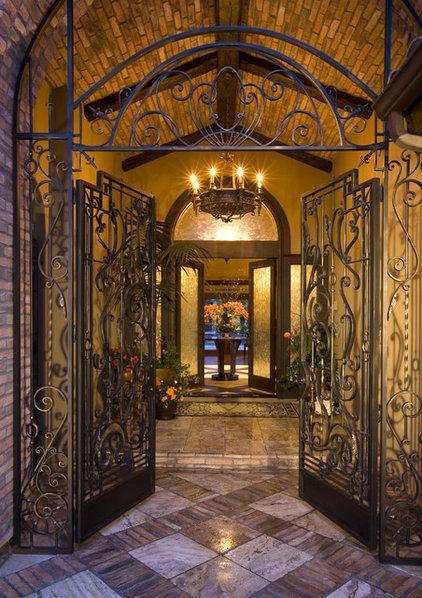 Mediterranean Entry by Robeson Design