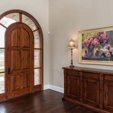Traditional Entry by David Mills Custom Homes