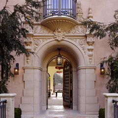 mediterranean entry by Alderson Construction