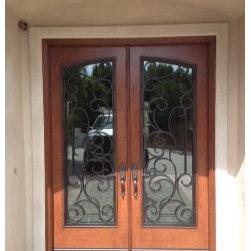 Jeld-Wen Doors - Entry Door Replacement - The After Photo of the entry door replaced.
