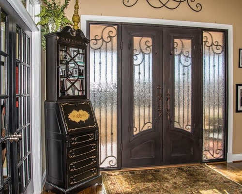 Large Foyer Window Replacement : Traditional foyer design ideas renovations photos with