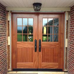 Entry Doors and Dutch Doors - Clingerman Doors - Custom Wood Garage Doors and Carriage Doors