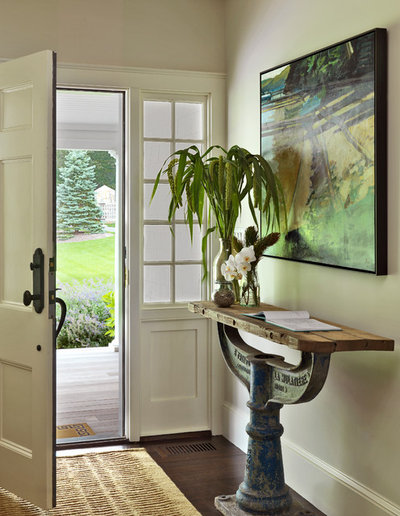 Farmhouse Entry by Duffy Design Group