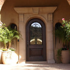 Superstition Mountain Traditional Mediterranean Entry Phoenix By Linda Seeger Interior