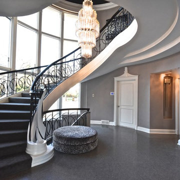 Entry Foyer and Staircase