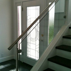 Contemporary Entry by Dee Thelen Interiors